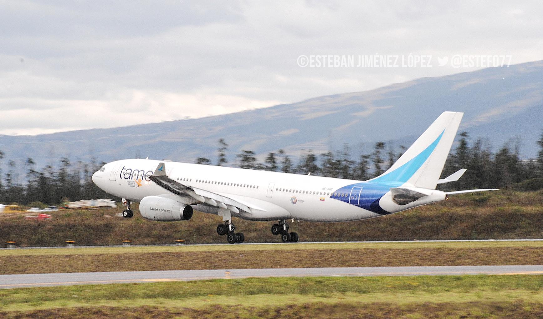 TAME hará cambios en ciertos vuelos por cierre de aeropuerto de Guayaquil