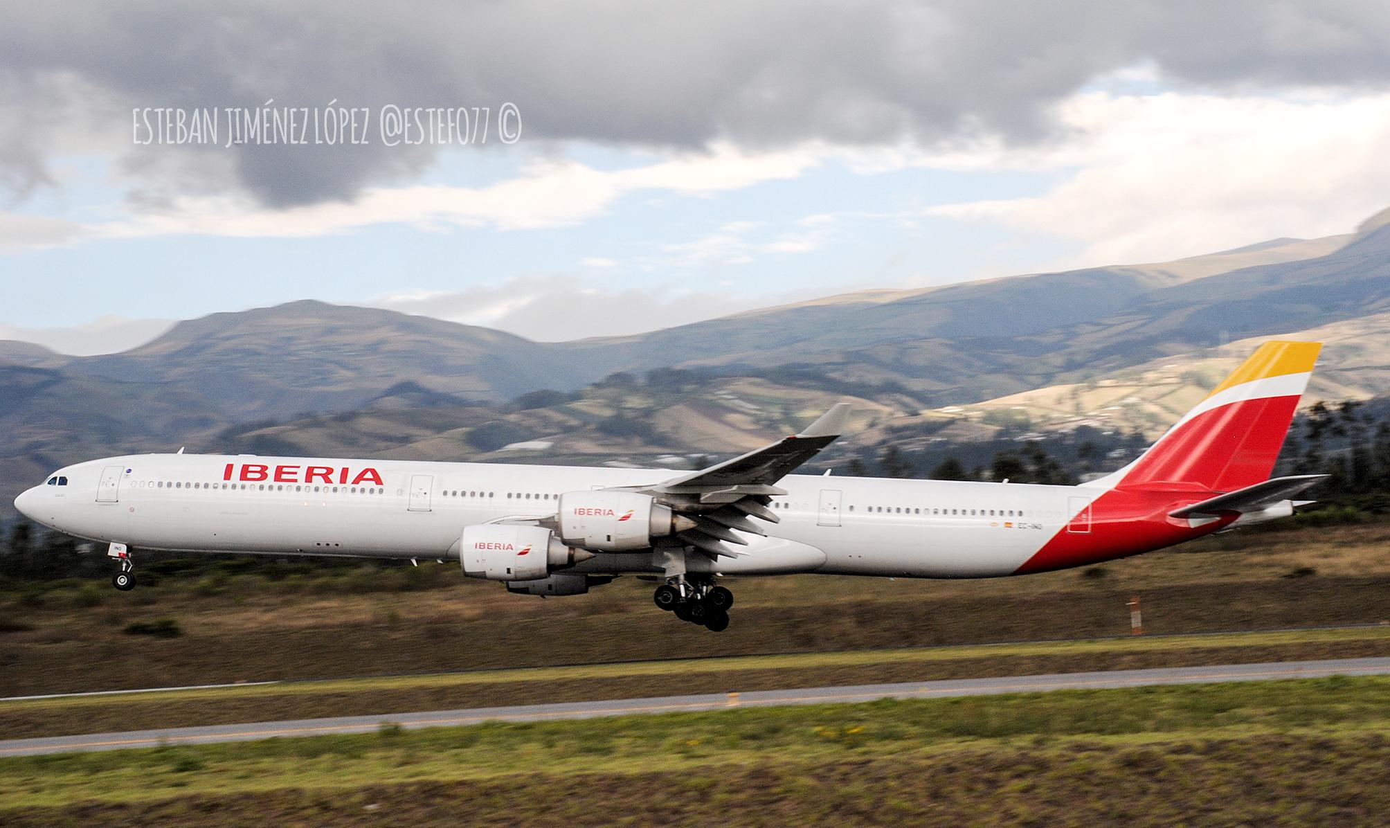 Iberia incrementa un 40% sus vuelos a El Salvador