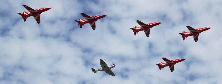 Farnborough: 185 nuevos pedidos para Airbus; y 198 para Boeing