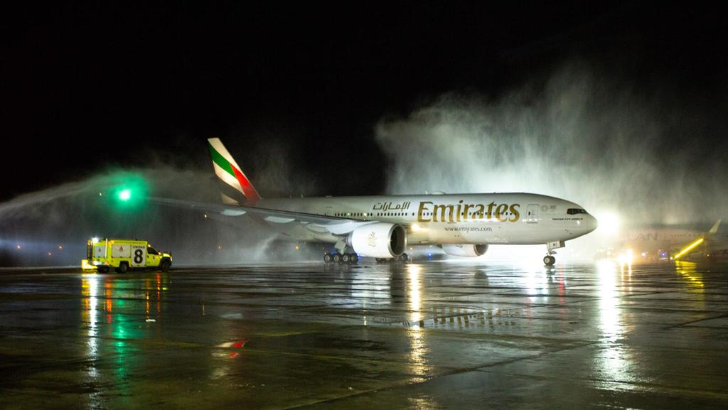 Emirates launches flights to Santiago in Chile