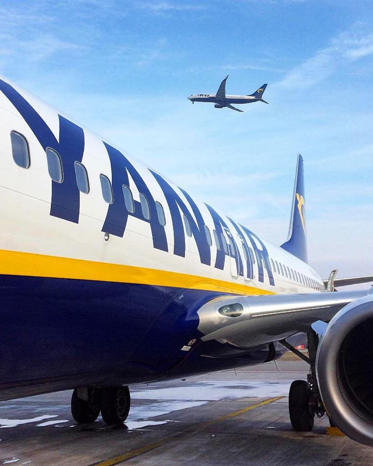 Ryanair reduce sus beneficios en un 20%