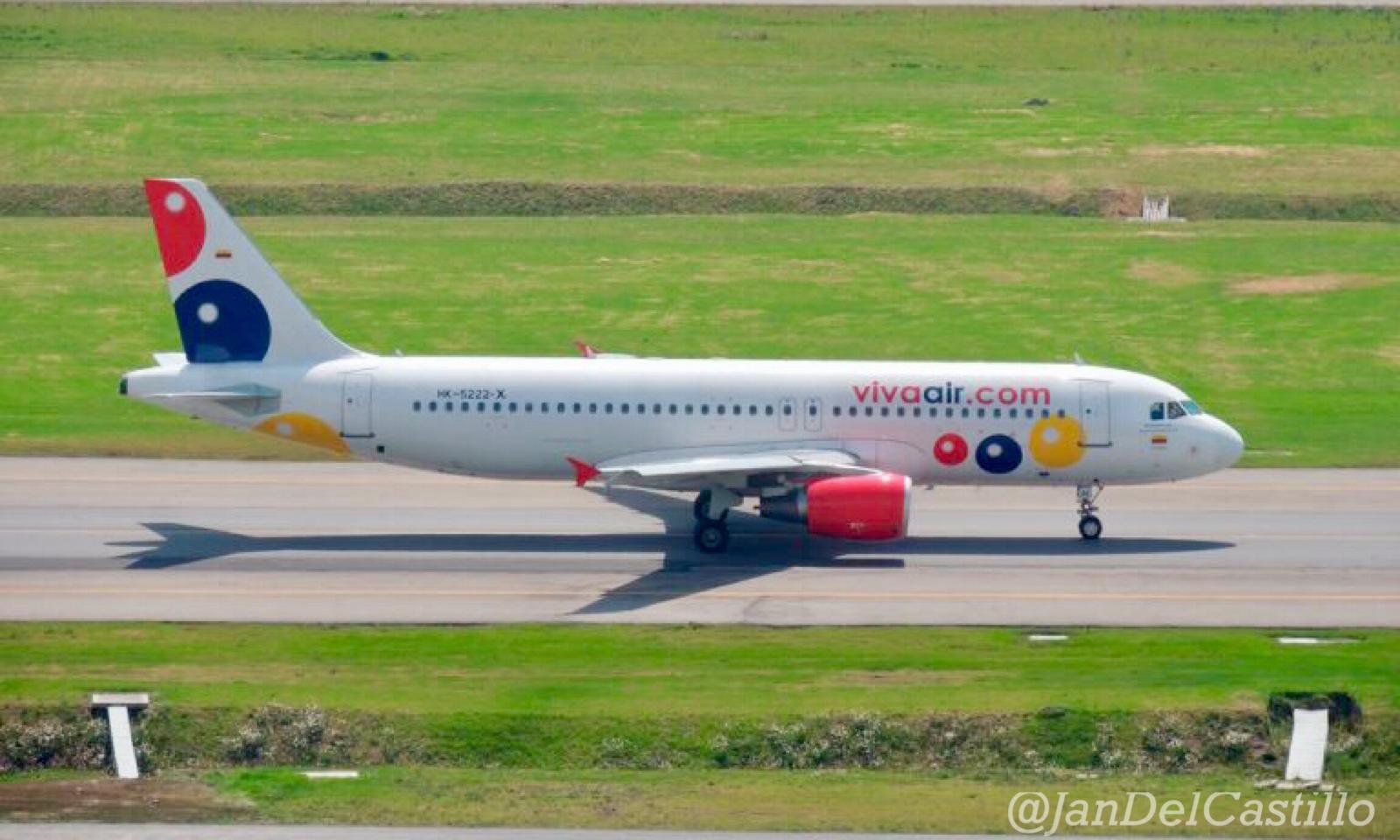 Viva Air Colombia aumenta frecuencias a Bucaramanga