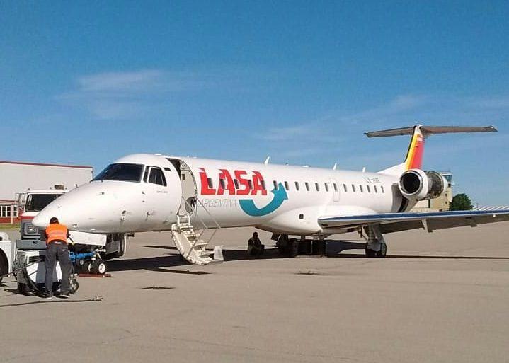 Lasa: De Mar del Plata en avión a Chile, Uruguay, Paraguay, Bolivia y Brasil