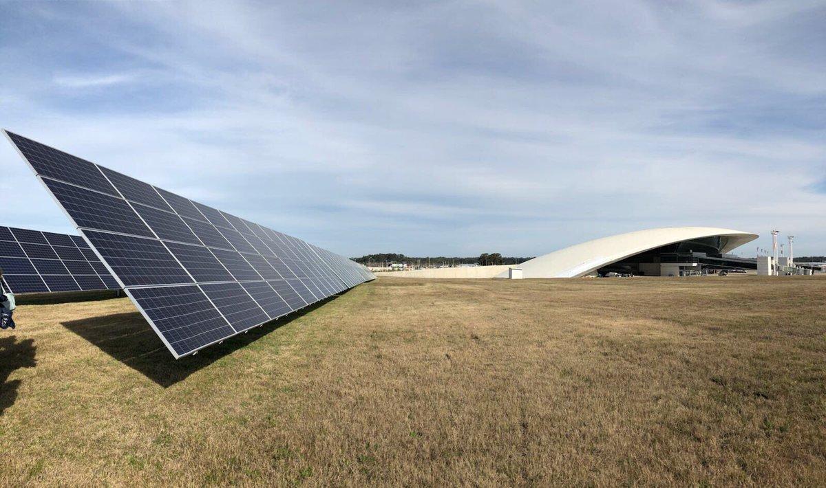 Uruguay: Aeropuerto generará el 11% de su energía