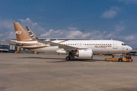 Airbus termina ensamblaje del primer ACJ320neo