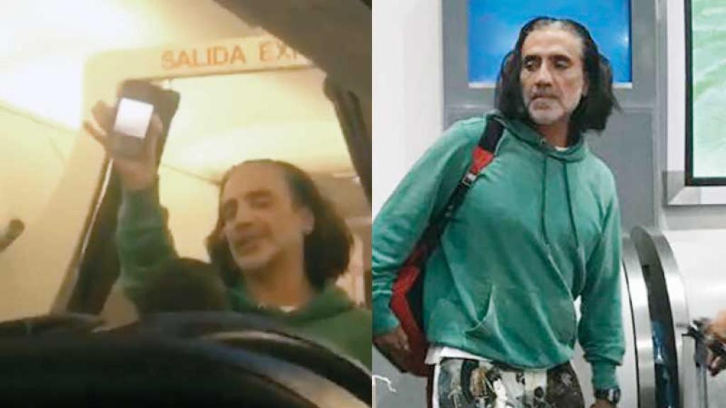 Cantante Alejandro Fernández subió ebrio a un avión y causó pánico entre los pasajeros
