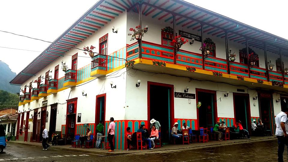 El pueblo más colorido de Colombia