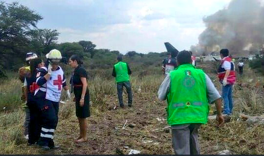 Investigators say microburst played key role in Aeromexico crash