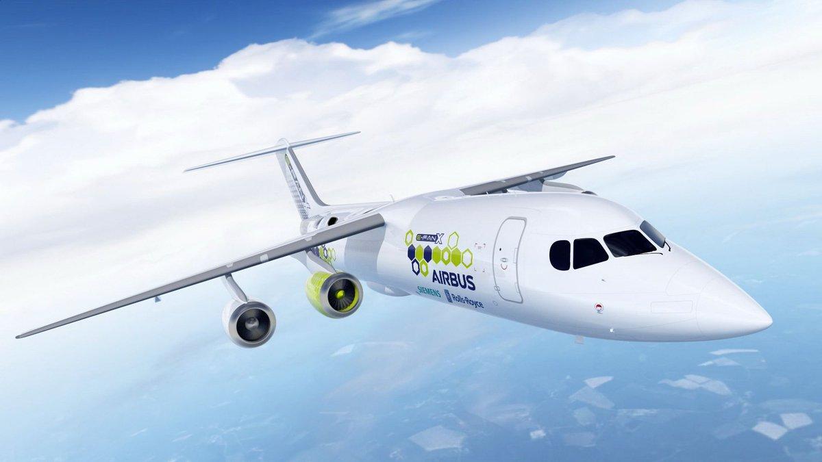 Cancela Airbus desarrollo de avión eléctrico