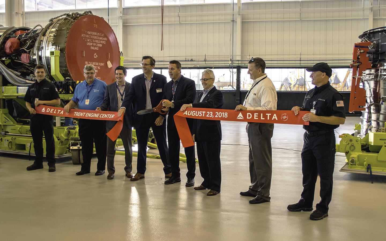 Delta abre nueva tienda de motores de última generación