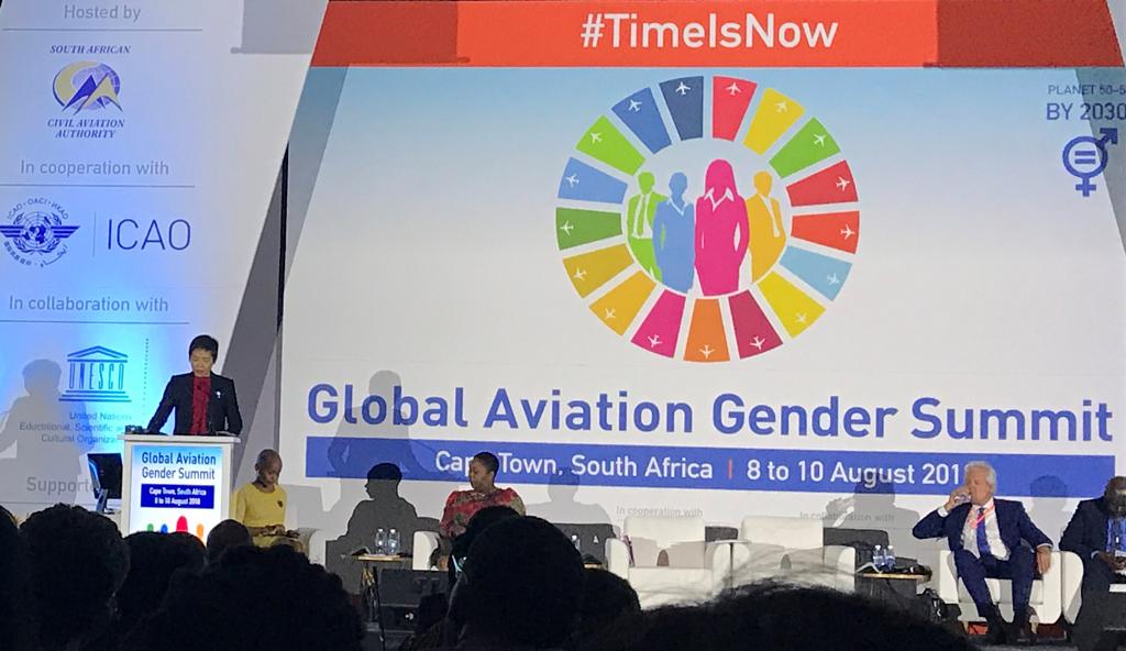 Primera Cumbre Mundial sobre la Igualdad de Género en Aviación