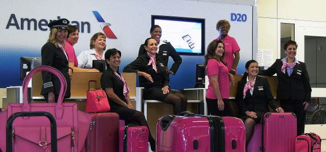 American Airlines Goes Pink in October for Breast Cancer Awareness Month
