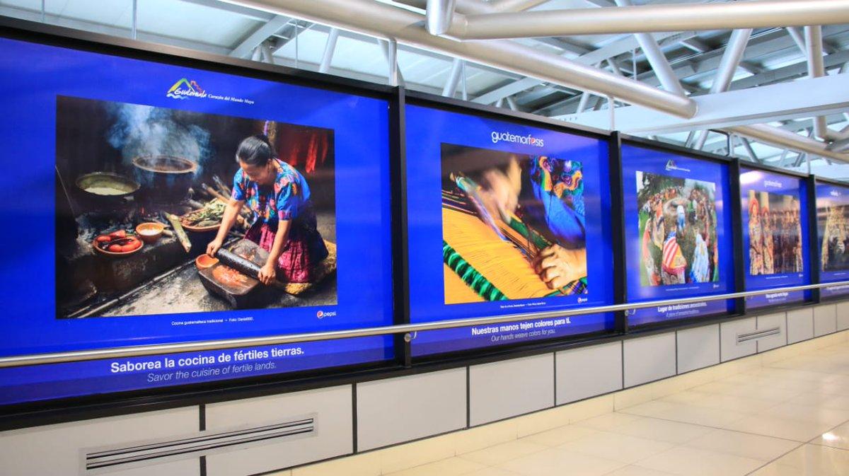 Develan nuevas imágenes en Aeropuerto Internacional La Aurora