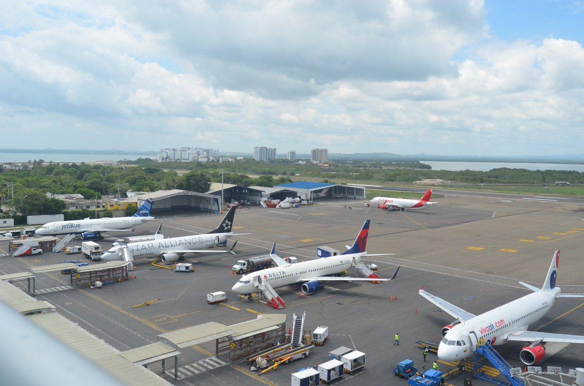 Colombia: Aumentó el número de viajeros en Aeropuerto de Cartagena durante Semana Santa