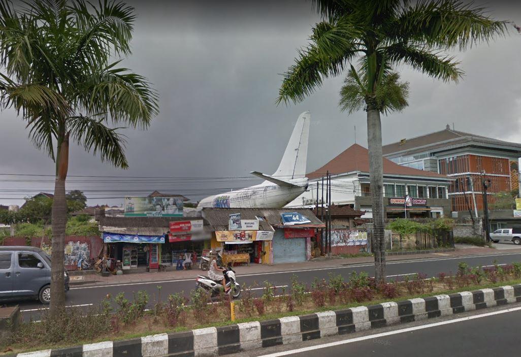 Dos aviones aparecieron misteriosamente en Bali