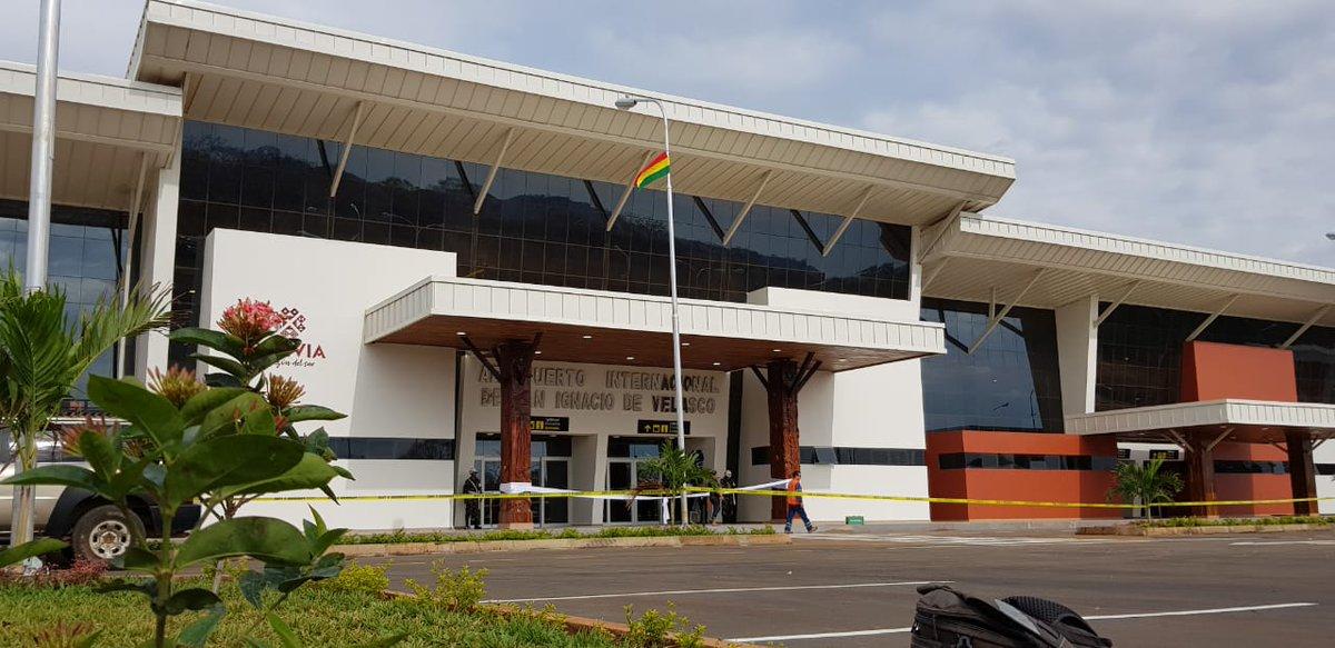 Bolivia: Tres aterrizajes estrenan el aeropuerto de San Ignacio de Velasco