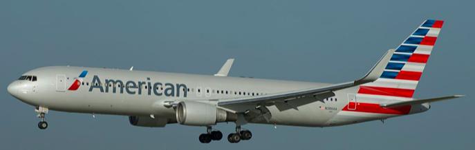 American Airlines programa servicio del B767-300ER en vuelos a Punta Cana desde Philadelphia