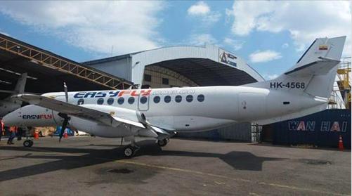 Easyfly incrementará la operación en la ruta Cali-Bucaramanga-Cali