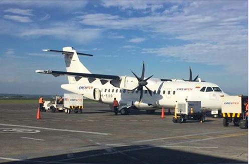 Colombia: Aerolíneas en Barrancabermeja esperan un aumento en el flujo de pasajeros en 2019