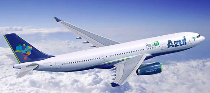 Azul adia início das operações do A330-900neo para janeiro de 2019