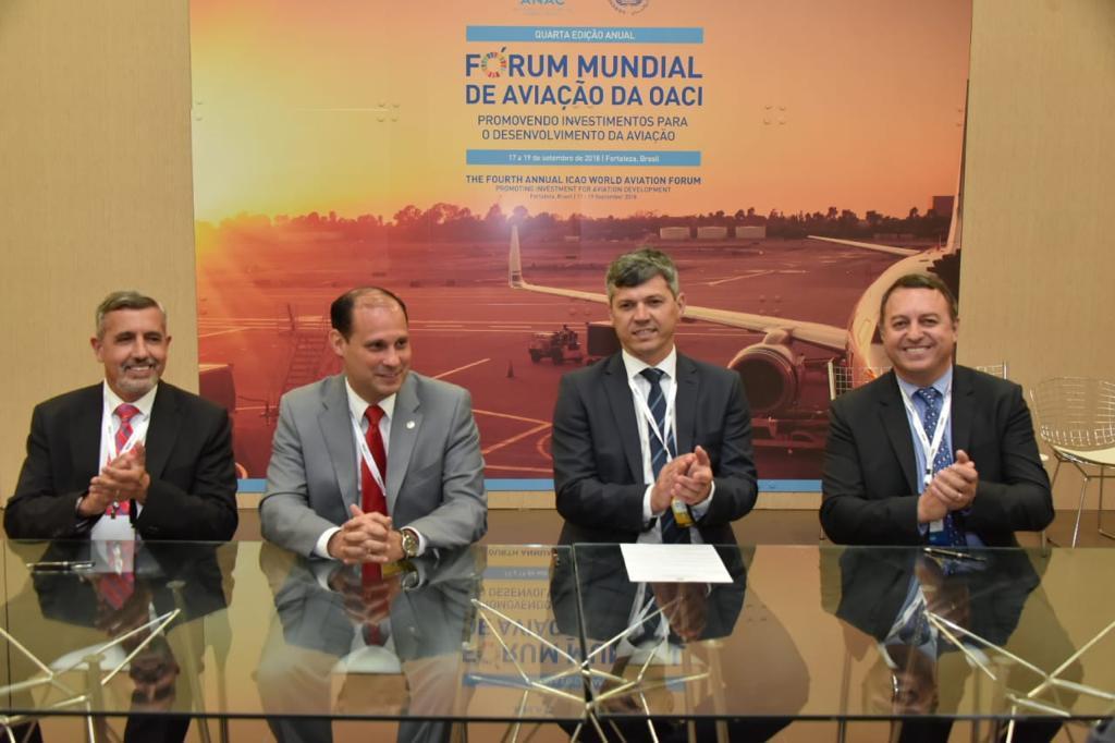 Industria aérea en Brasil firma acuerdo de cooperación