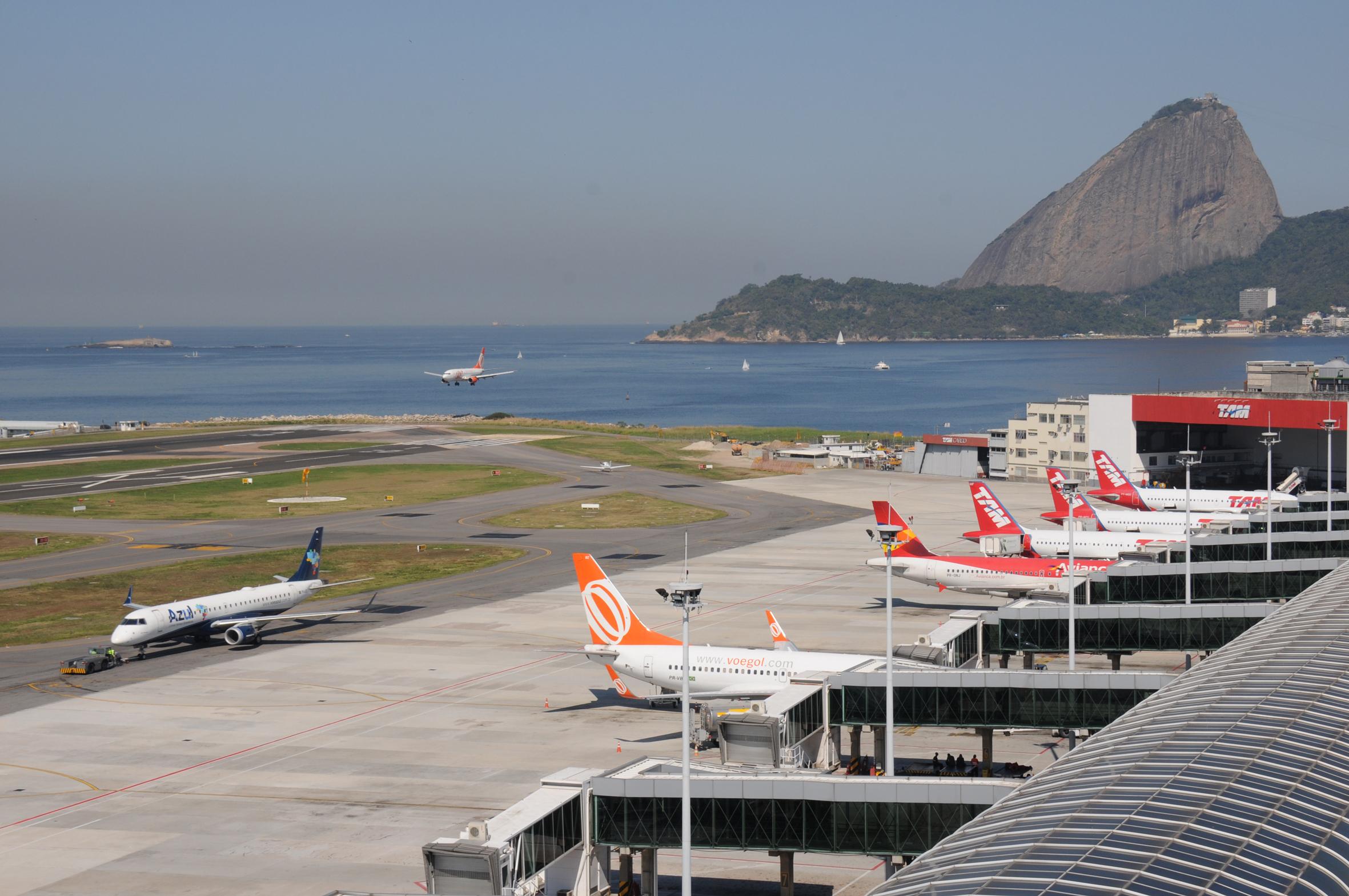 Santos Dumont utiliza água de reuso para climatização do aeroporto