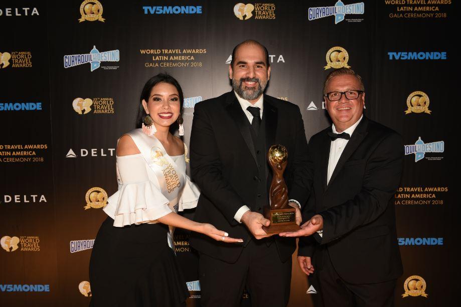 """LATAM Airlines es reconocida como la """"Aerolínea Líder de Sudamérica"""" en los World Travel Awards 2018"""