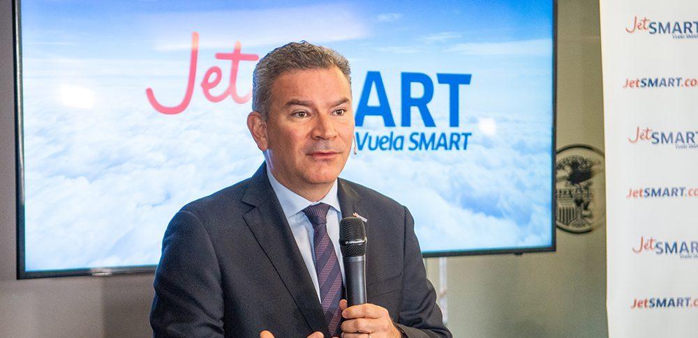 """«Estamos iniciando ya el proceso para obtener la certificación operativa que requiere tener una línea aérea en Perú"""": Estuardo Ortiz, CEO de JetSMART"""
