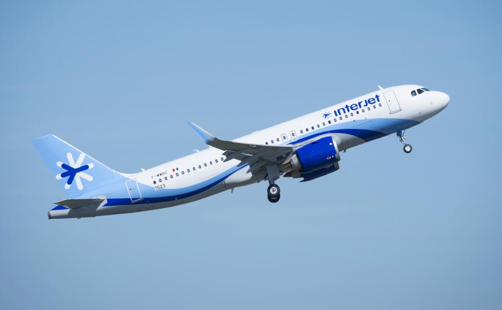 Aumenta Interjet orden de A320neo y reduce flota Sukhoi