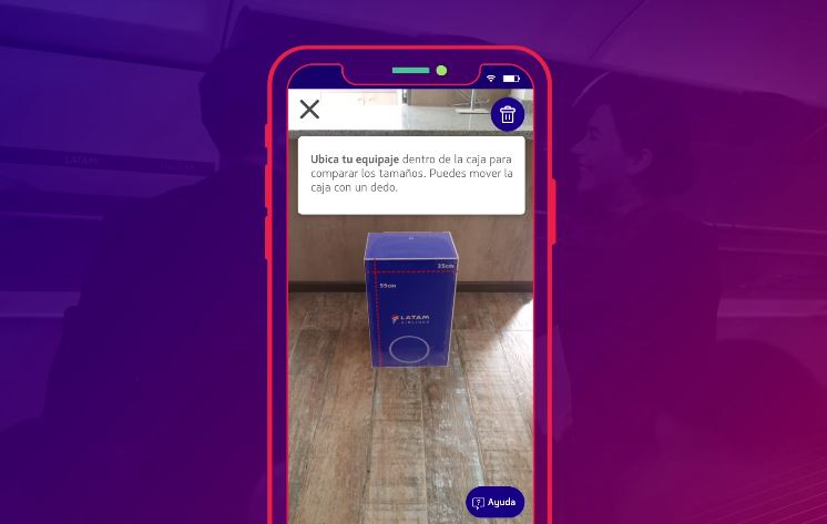 LATAM becomes the first airline group in the Americas to offer augmented reality tool