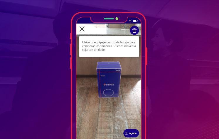 LATAM implementa sistema de Realidad Aumentada para sus pasajeros