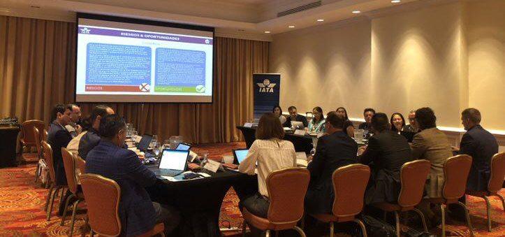 IATA sostuvo reunión con las asociaciones centroamericanas de líneas aéreas