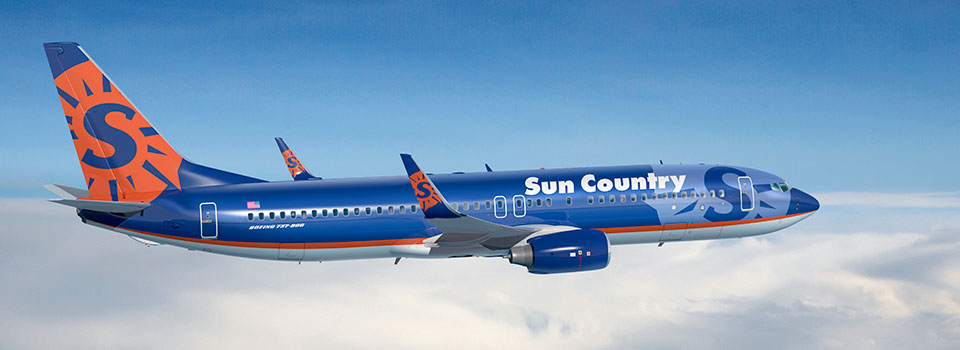 Sun Country Airlines to Add 12 New Routes in 2020