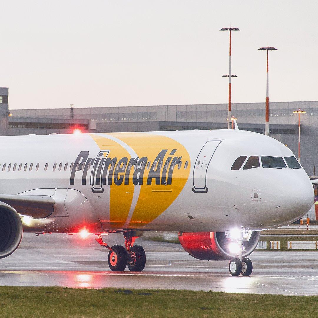 La aerolínea islandesa de bajo coste Primera Air se declara en quiebra