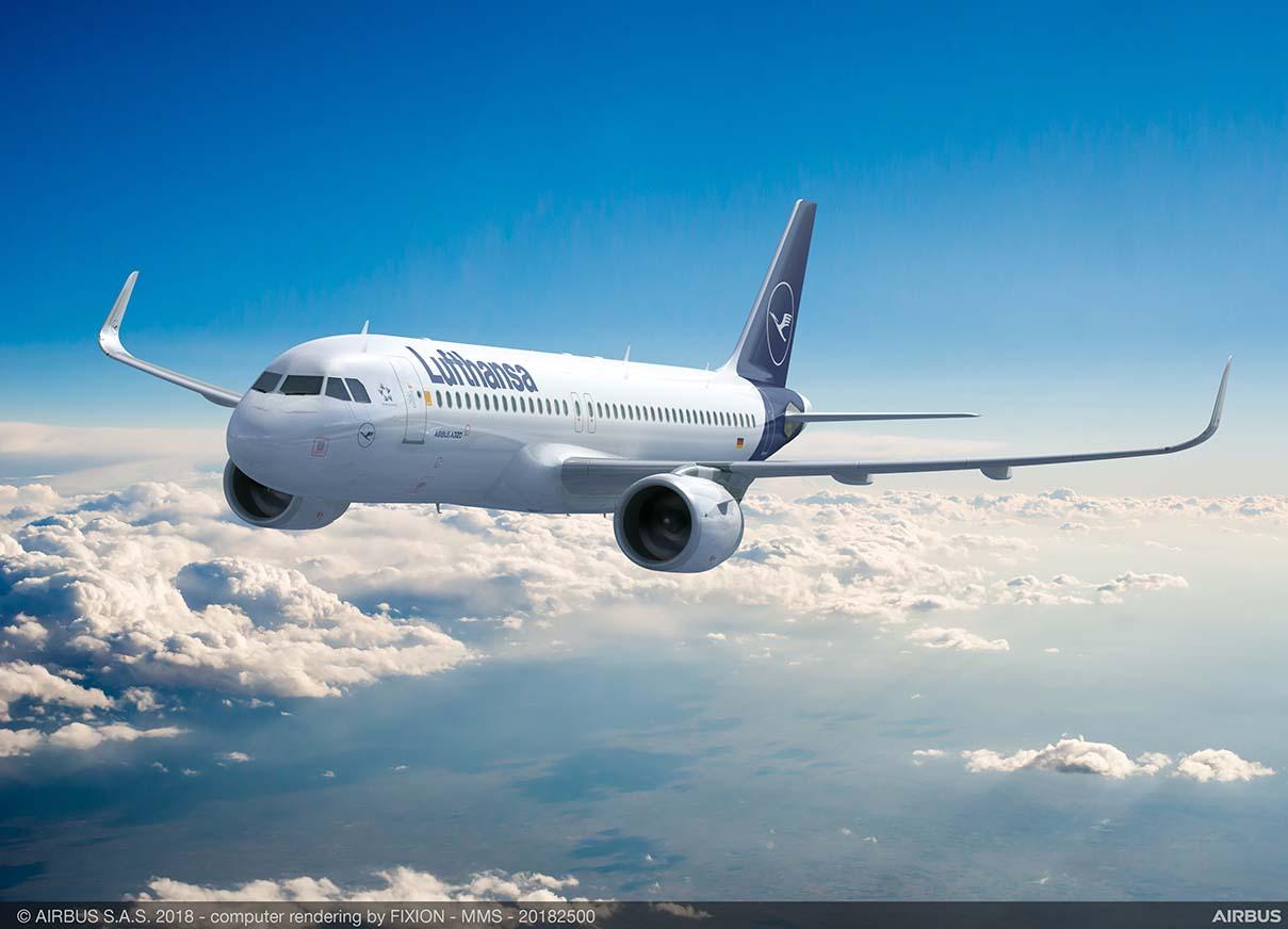 Lufthansa Group mantém voos do Brasil para Frankfurt e Zurique