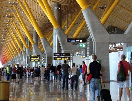 Los aeropuertos de Aena registraron 186,8 millones de pasajeros hasta agosto, un 5% más