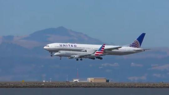Increíble: En el aeropuerto de San Francisco aterrizaron dos aviones al mismo tiempo