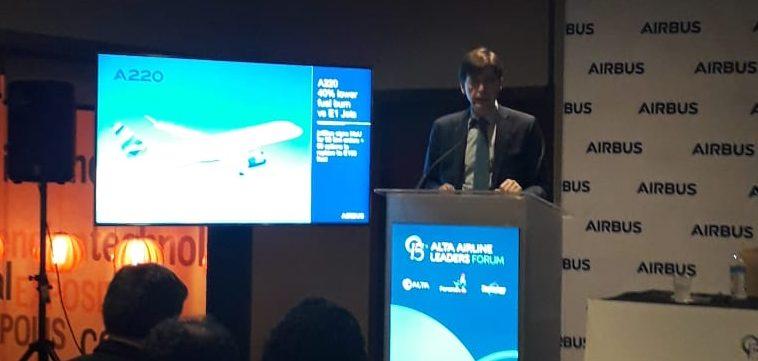 Airbus estima que en América Latina se necesitarán más de 2.700 aviones