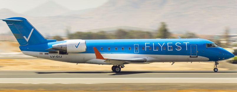 Los vuelos de Flyest hacia reconquista pospuestos para agosto