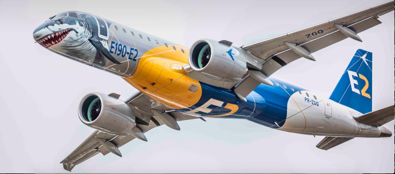 Demostración del E190-E2 de Embraer en el marco del ALTA Leaders Forum
