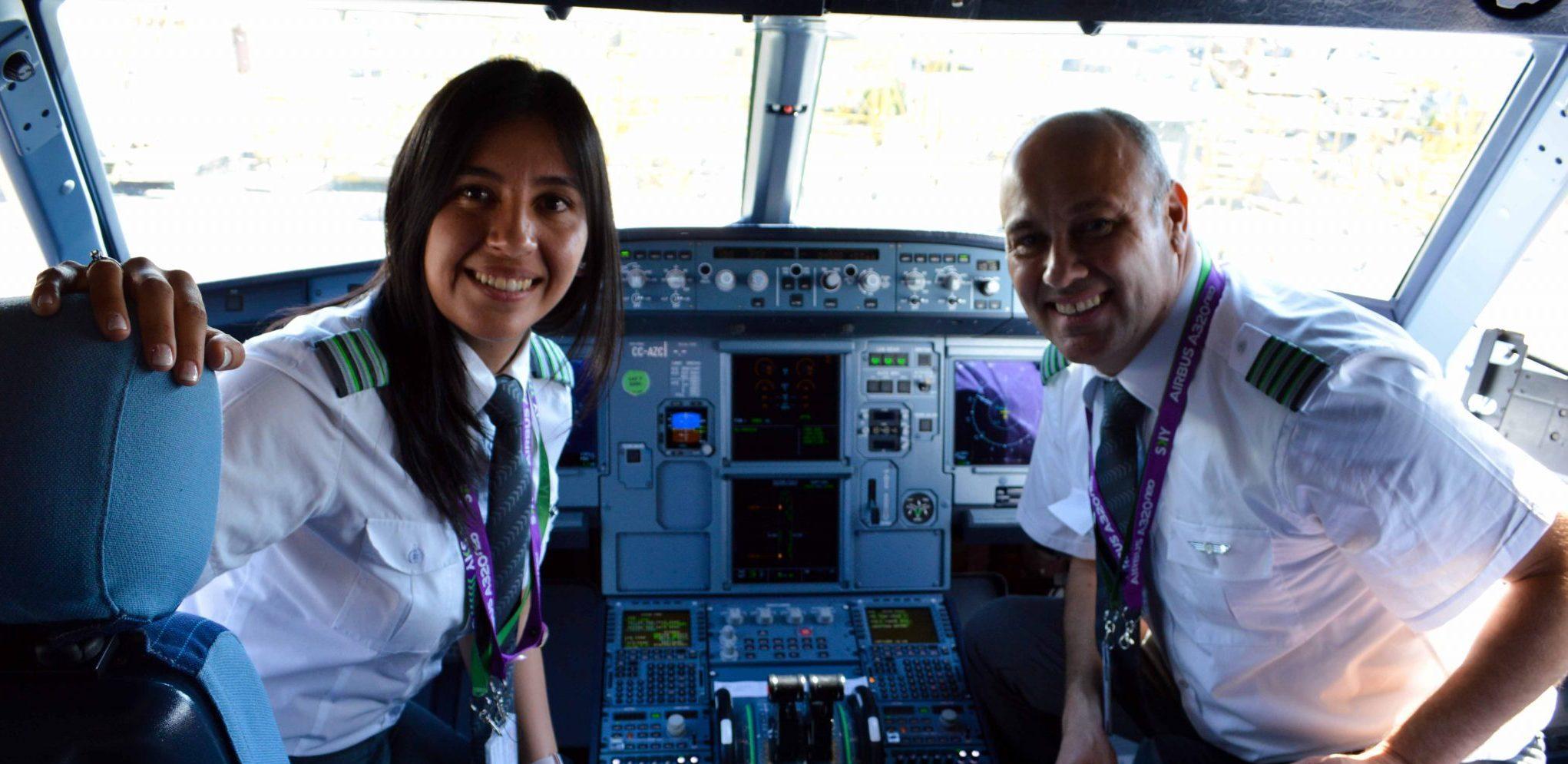 SKY se compromete a aumentar contratación de mujeres pilotos