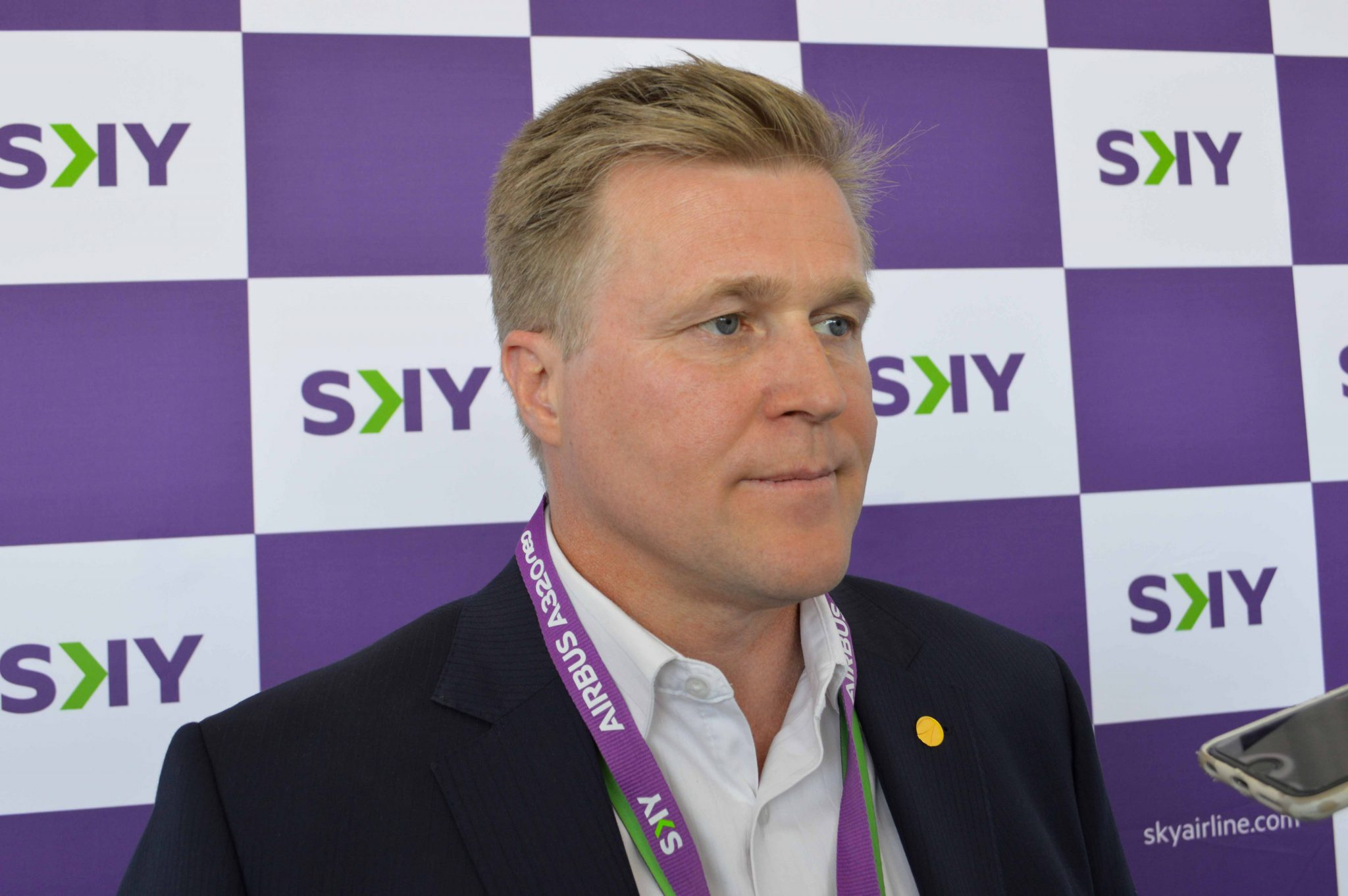 60 seconds with… Holger Paulmann CEO, Sky Airline