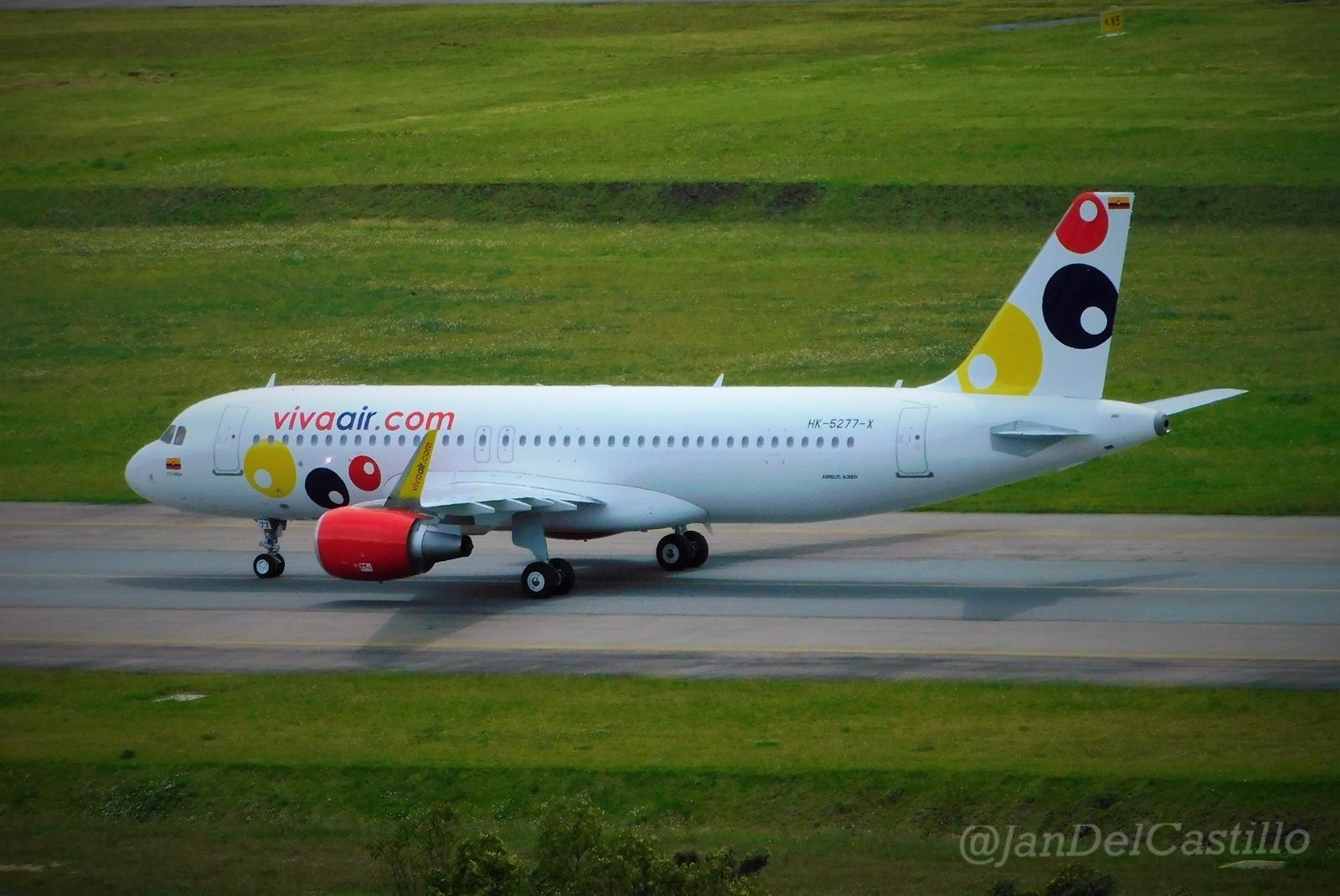 Llegó a Colombia el segundo avión nuevo de Viva Air