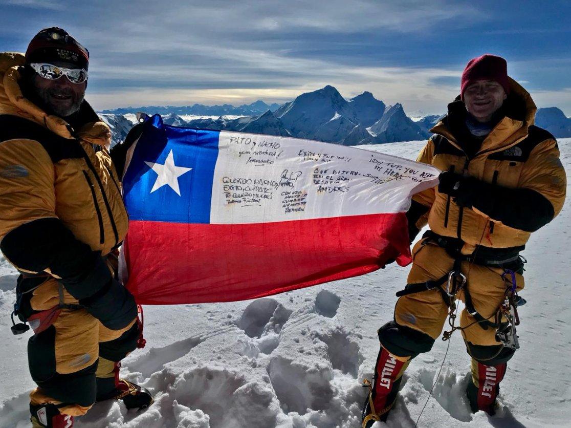 Ignacio Cueto alcanza su cumbre más alta