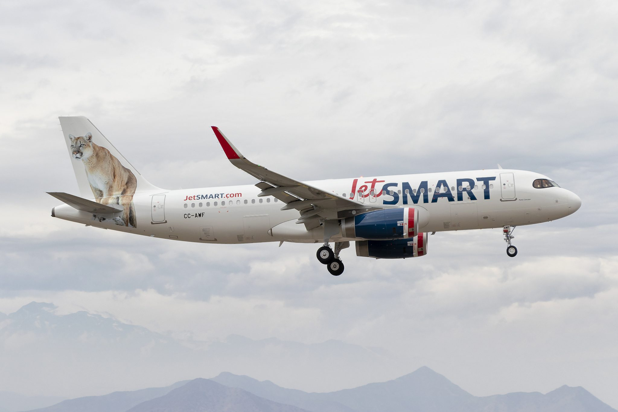 JetSMART transportó un 65% más de pasajeros que el año anterior