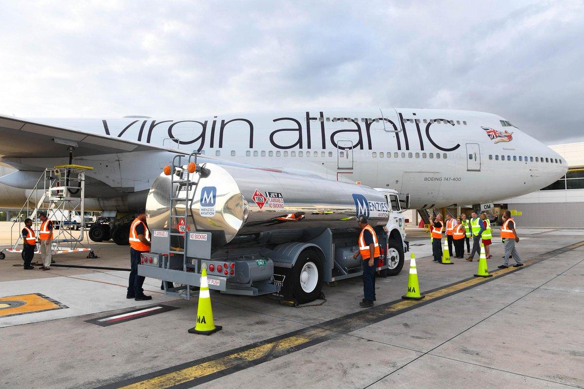 Virgin Atlantic vuela con gases invernaderos reciclados