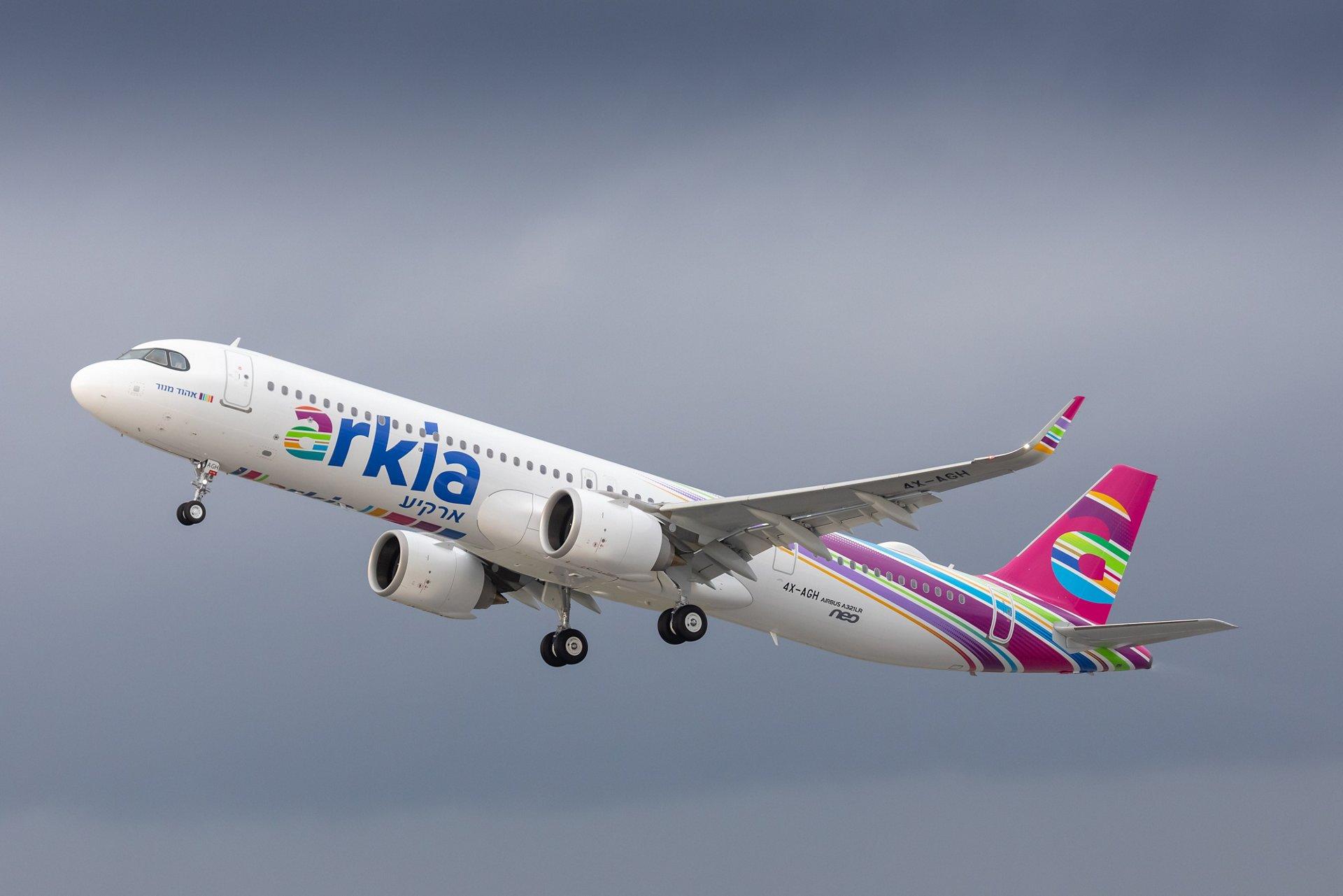 Primer Airbus A321LR fue entregado a Arkia Airlines