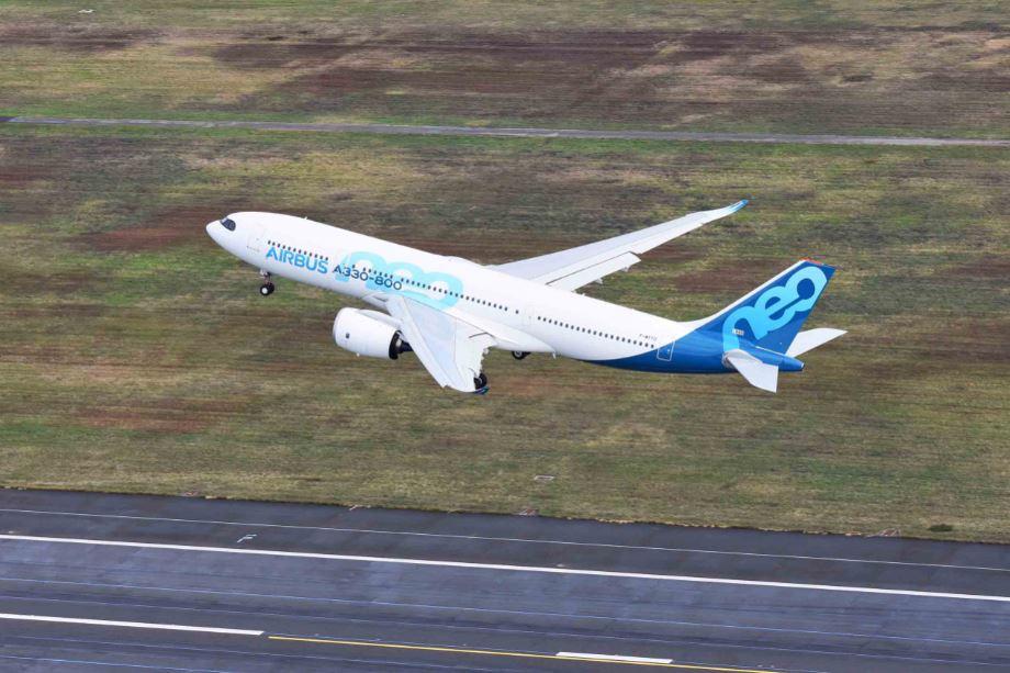 Primer vuelo del A330-800 se realizó con éxito