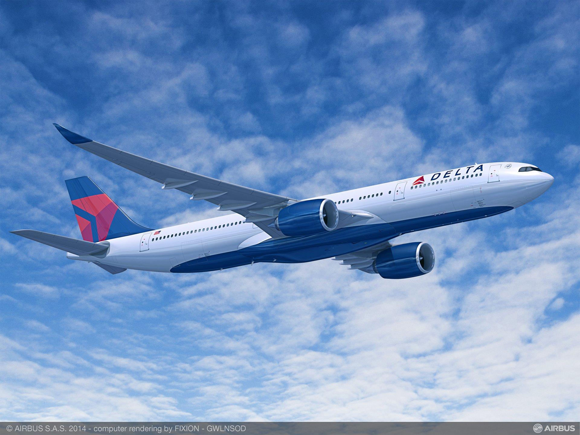 Delta incorpora dos A330-900neos a su flota