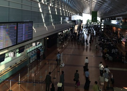 Aeropuerto de Tokio, el más puntual en julio